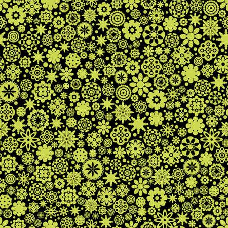 Flowers seamless pattern. Stock Vector - 12137346