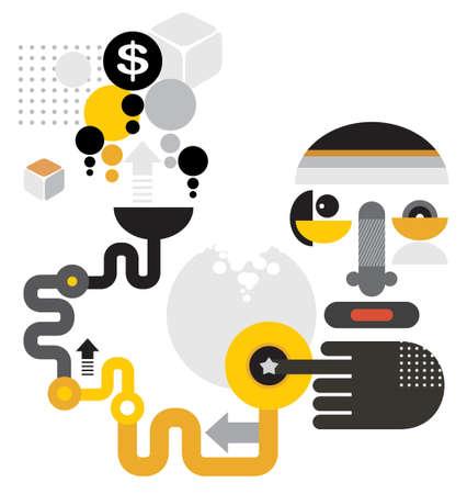credit crisis: Man makes money from air