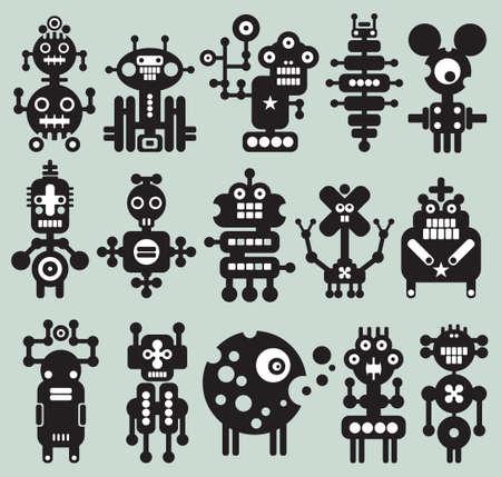 robot: Los monstruos y robots de recogida # 20.