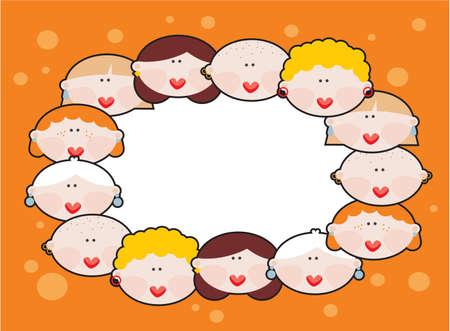 Female banner Vector illustration Stock Vector - 18083584