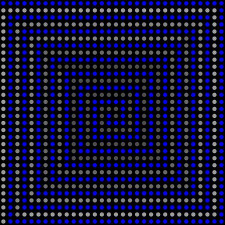 volume glow light: Psychedelic pattern 3D. Vector illustration.