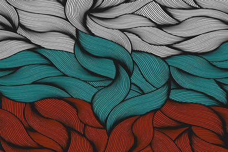 russian flag: Russian flag pattern vintage style. Vector illustration. Illustration