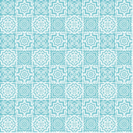 セラミックタイルイラストのシームレスなパターン。