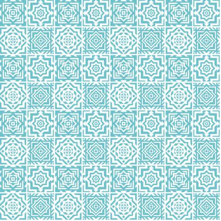 세라믹 타일 그림의 원활한 패턴입니다.
