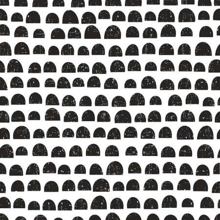 Seamless pattern in scandinavian style.