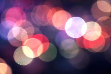 Art colorful Bokeh blur Background.