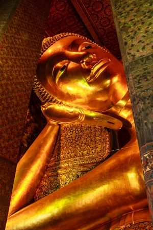 Buddha of statue in Wat Pho  photo