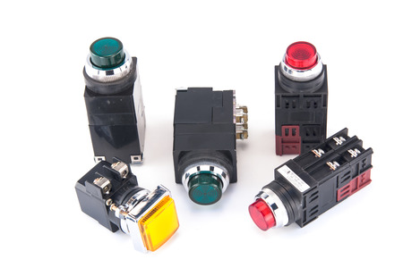 pilot light: Pilot light switch use to control electric system and machine