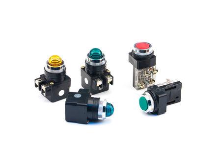 pilot light: Pilot light and Push botton switch