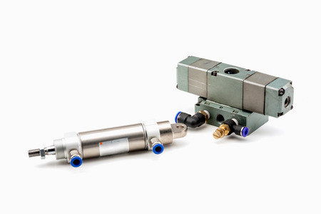 regulators: Pneumatic Valve and Air Cylinder
