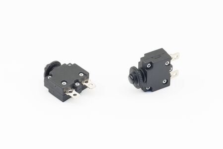 Fuse and Socket with pin Stock Photo