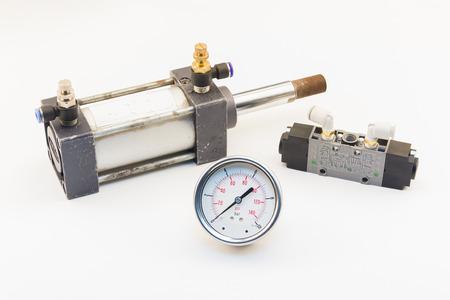 pneumatic: Air cylinder and Pneumatic Valve