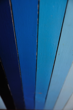 Wood Blue shade lines background Stock Photo