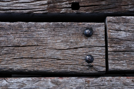 Old wood and knots background