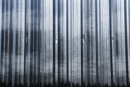 corrugated iron sheet background Stock Photo - 21052101