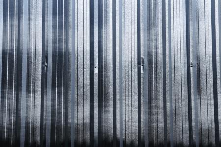 corrugated iron sheet background Stock Photo - 21052101