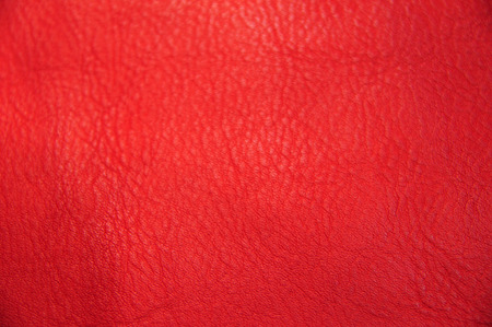 Close up red texture leather skin, photo