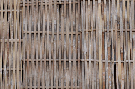 Local village fence pattern Thailand  photo