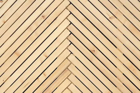 laths: Lining of brown wooden stick  Stock Photo