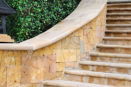 balustrade: Beautiful and classic stairs with curve balustrade.