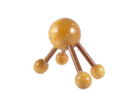 relieve: Wooden ball massage for relieve pain points