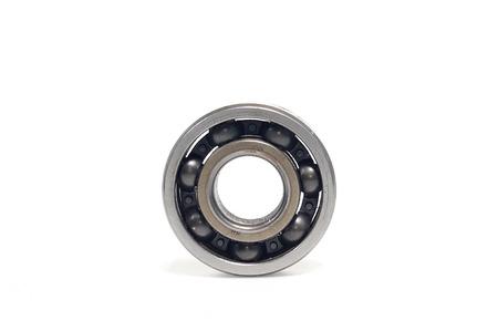 Single bearings isolated on white background Stock Photo