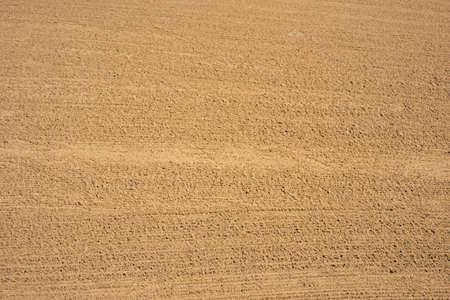 bunker: Brown sand in bunker hazard