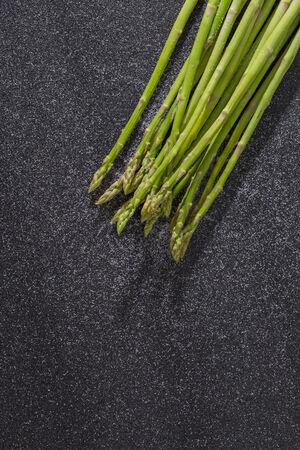 Bunch of asparagus photo