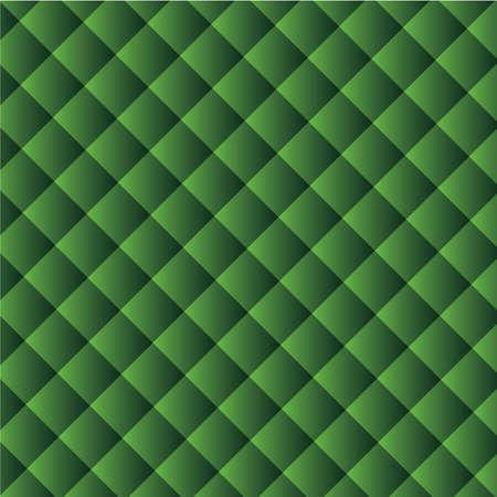 Geometric squares arranged diagonally.