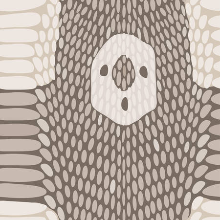 python skin: Snake skin texture. Seamless python skin pattern.