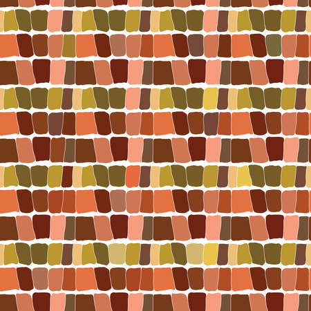 Abstract seamless pattern brown background. Vector illustration Vector