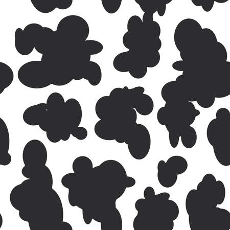 Cow print royalty free cliparts vectors and stock illustration abstract seamless pattern black spots on white background cow fur vector illustration vector pronofoot35fo Gallery