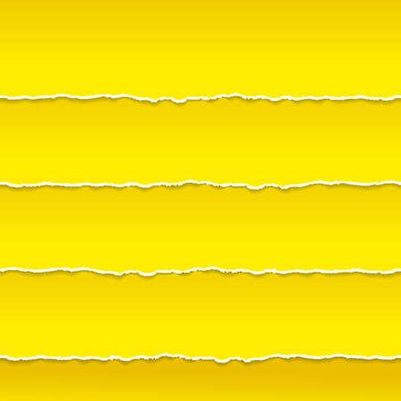 オレンジ色の紙崖っぷちベクトルのストリップ  イラスト・ベクター素材