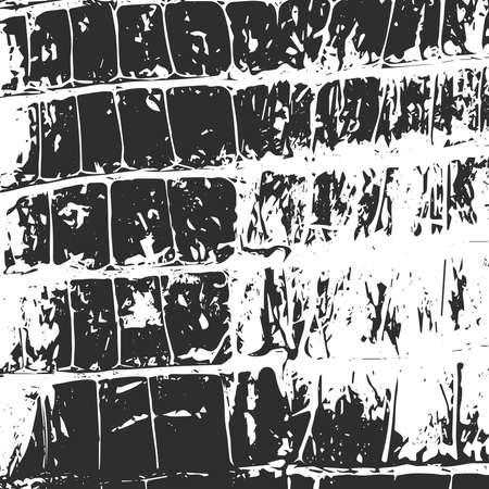 snakeskin: Crocodile leather, abstract texture black on white. Vector illustration
