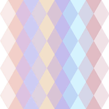 pastel colored: Abstract hipsters seamless pattern with bright pastel colored rhombus. Geometric background. Vector illustration