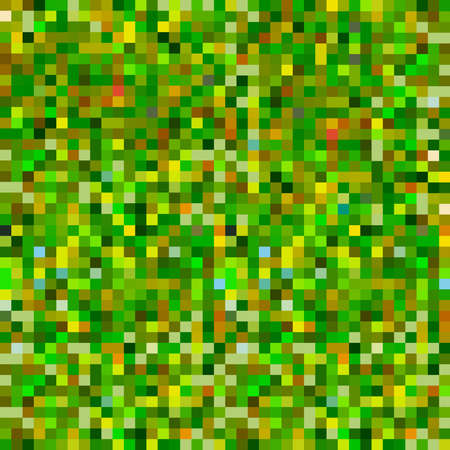 fatigues: Abstract pixel background green yellow khaki camouflage seamless pattern for fabric, wallpaper, pattern fills, web page background, surface textures. hand-drawn. Vector illustration