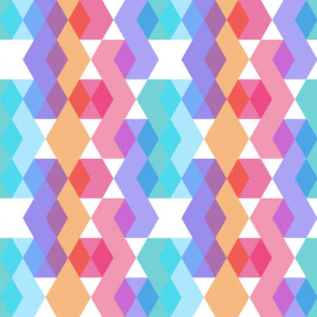 seamless pattern. orange lilac pink purple blue print, Geo ethnic hipster backdrop modern trendy  Geometric abstract background for site, blog, fabric. Vector illustration