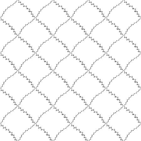 Seamless pattern abstract doodle lines, traditional geometric damask ornament white black background. Can be used for Gift wrap, fabrics, wallpapers scandinavian style Nursery decor. Vector illustration