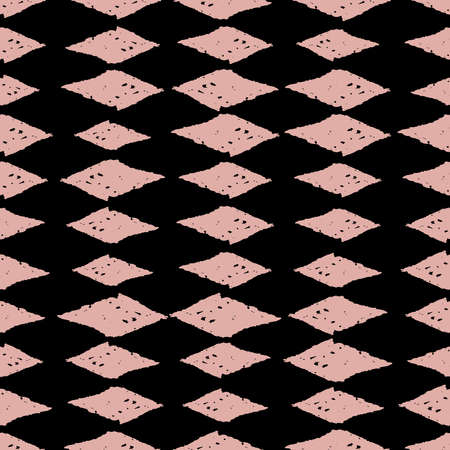Classic Vintage Seamless Pattern With Rhombuses, Texture Grunge.. Royalty Free Cliparts, Vectors, And Stock Illustration. Image 150338341.
