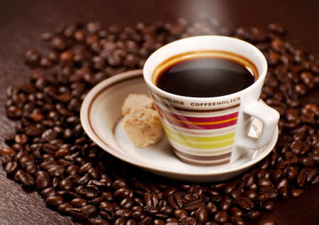 later: Cup of coffee