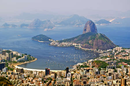 famous place: The mountain Sugar Loaf in Rio de Janeiro