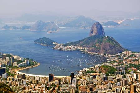 brazil beach: The mountain Sugar Loaf in Rio de Janeiro