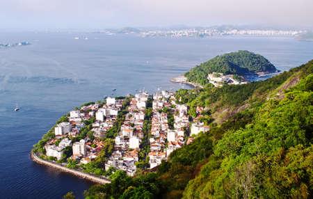 District Urca and Sugar Loaf in Rio de Janeiro  Brazil
