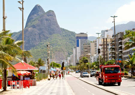 rio de janeiro: Ipanema and Leblon in Rio de Janeiro