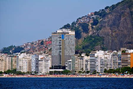 Copacabana in Rio de Janeiro  Stock Photo
