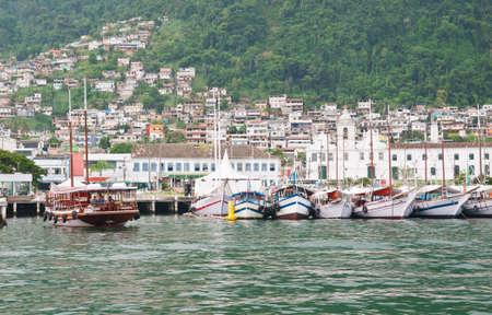 Port in Angra dos Reis  Rio de Janeiro  Brazil Stock Photo