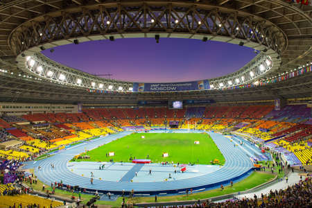 olympic sports: Grand Sports Arena of Luzhniki in Moscow, Russia