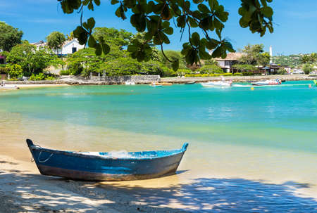 brazil beach: Beach of Ossos in Buzios, Rio de Janeiro  Brazil Stock Photo