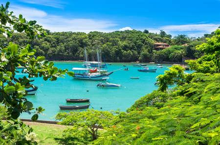 Lagoon in Buzios, Rio de Janeiro  Brazil 스톡 콘텐츠