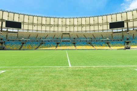 The Maracana Stadium in Rio de Janeiro, Brazil